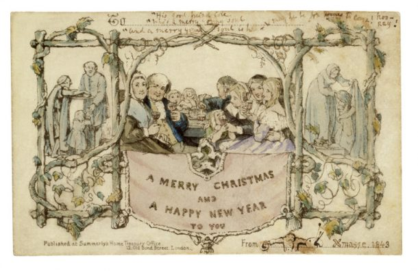 The first Christmas card 1843