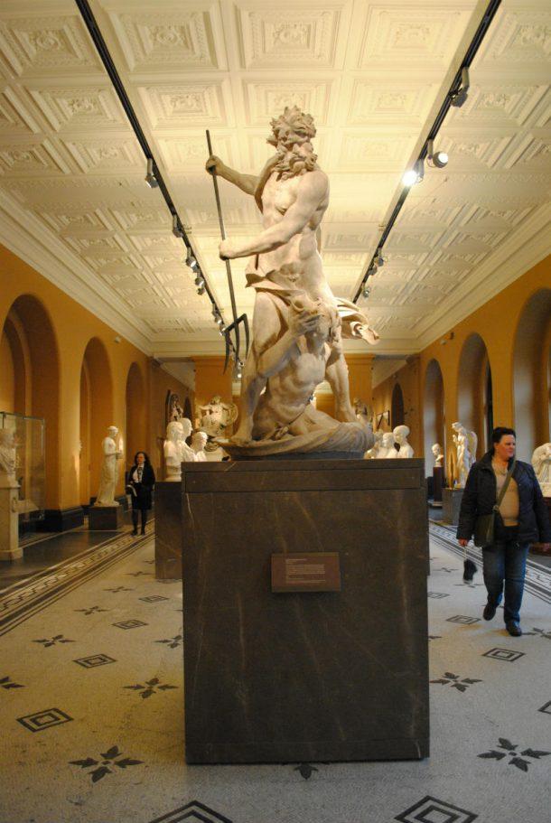 Neptune and Triton dominating the Sculpture in Britain © Victoria and Albert Museum, London