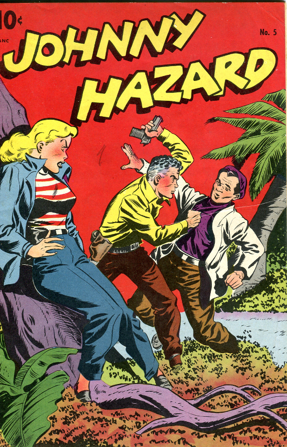 Jonny Hazard #5 © King Features Syndicate 1948.