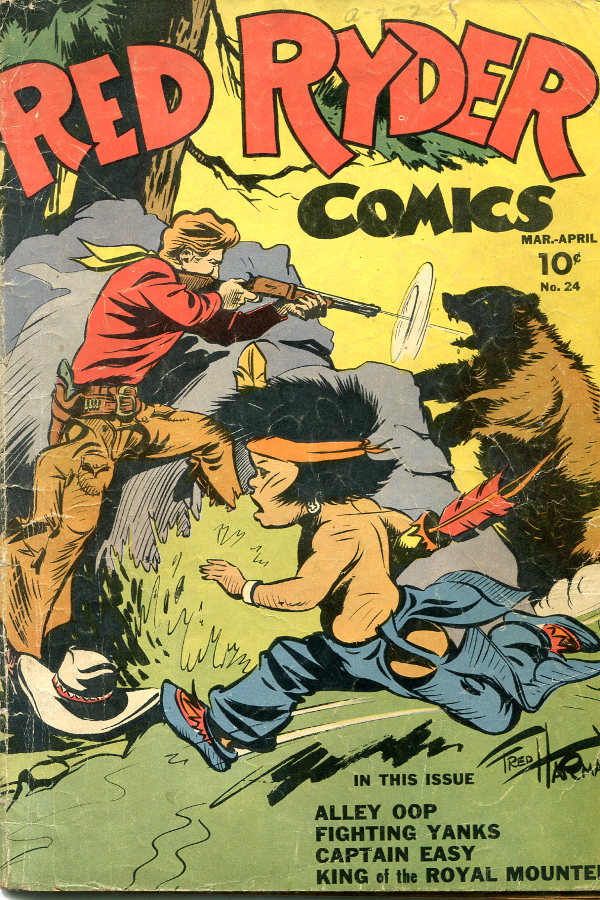 Red Ryder # 24, March 1945. © King Features Syndicate Inc. 1945.