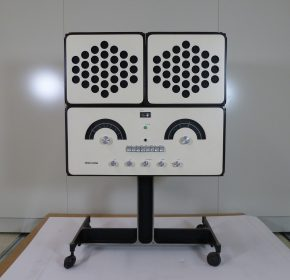 Front view of our RR126, shown with speakers on top © Victoria and Albert Museum, London