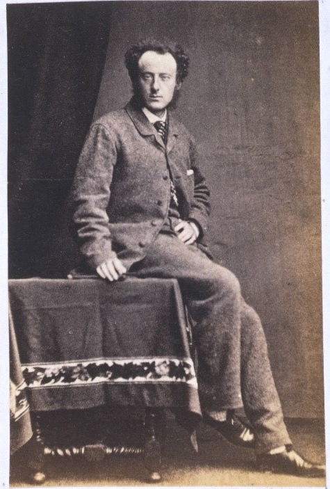 Photograph of John Everett Millais, 19th century (museum no. 1451-1928) © Victoria & Albert Museum, London