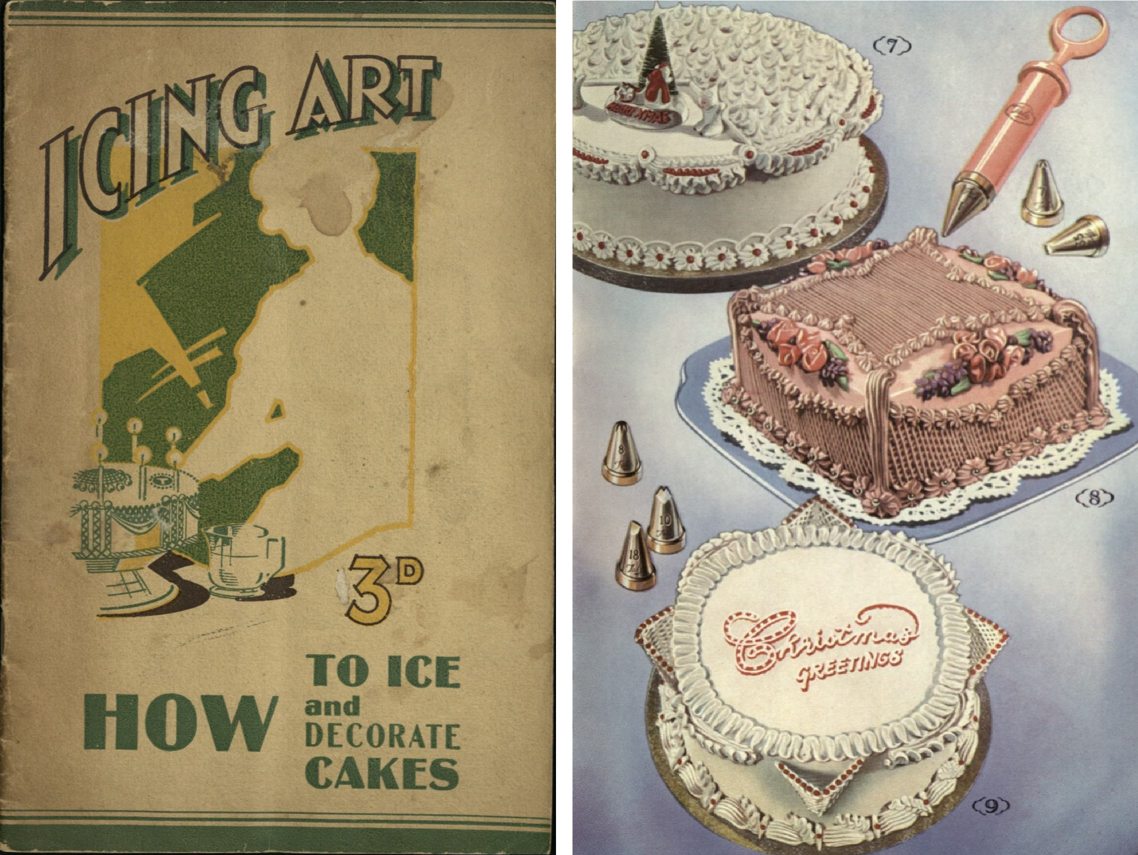 The Icing On The Cake Anne Anson S Cake Decorating Manuals