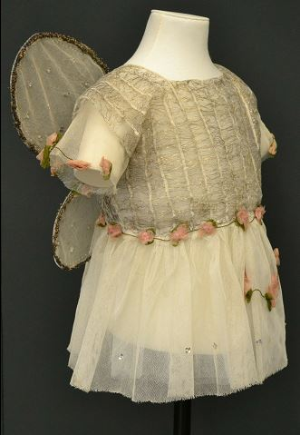 "Copyright Victoria and Albert Museum. ""Fairy""; Guaze bodice with tinsel, English, c.1920."