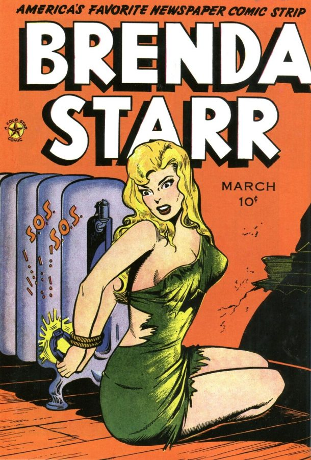 Brenda Starr #2, 1948 with art by Jack Kamen. © Tribune Media Services.
