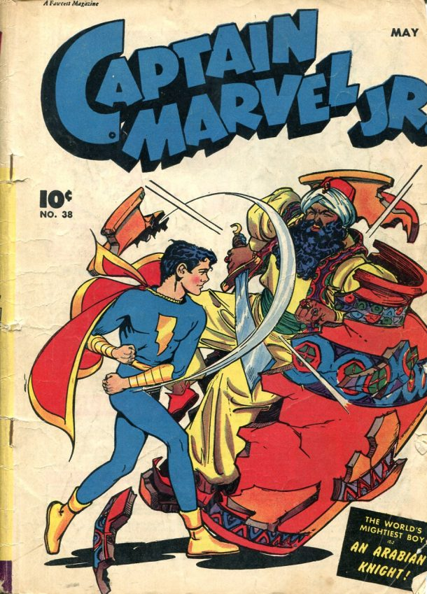 Captain Marvel Jr. # 38, 1946 © Fawcett Publ Inc.