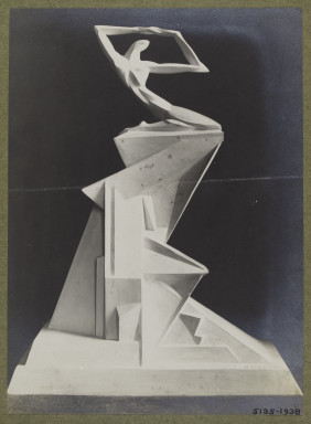 5135-1938 Photograph of a design for a monument by Oswald Herzog