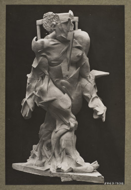 5863-1938 Photograph Human Dynamism; Photograph of 'Human Dynamism' by Umberto Boccioni Umberto Boccioni (1882-1916) Photograph