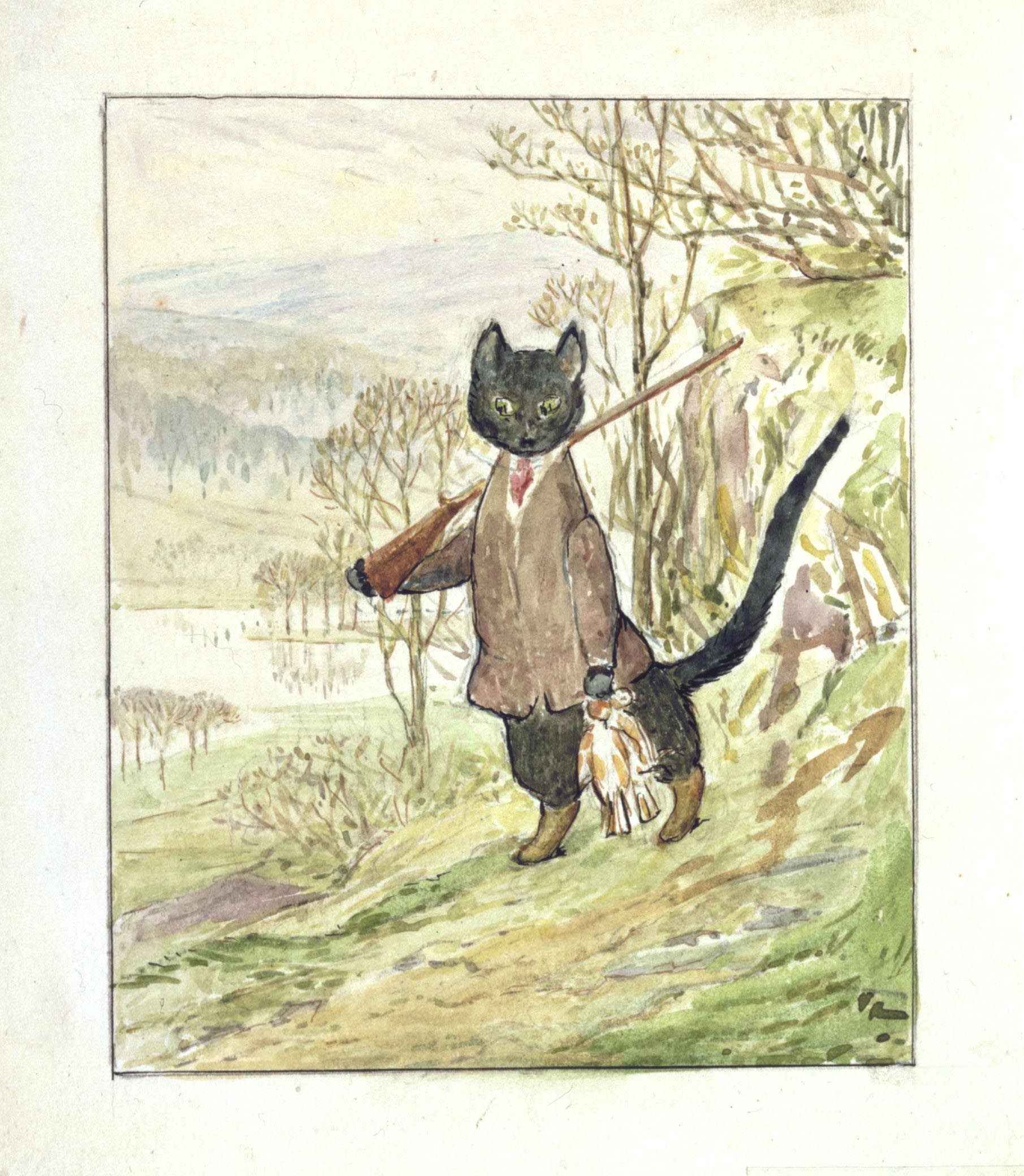 Beatrix Potter\'s Tale of Kitty-in-Boots • V&A Blog