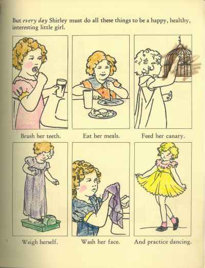 Shirley Temple My Book to Color, Copyright Victoria & Albert Museum 2016