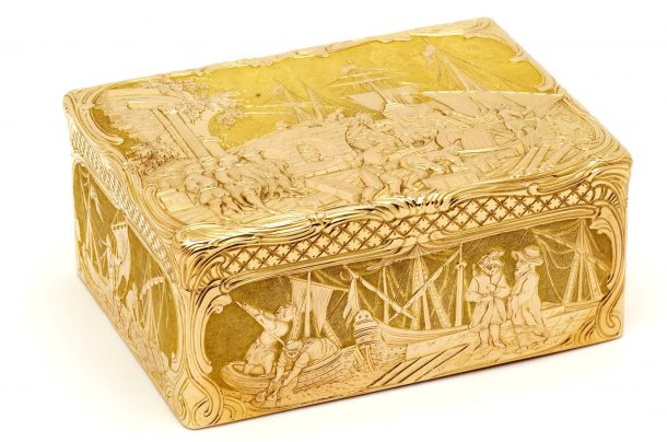 Snuffbox, c. 1750-1850, Germany or Switzerland, museum no. Loan:Gilbert.1051-2008 | The Rosalinde and Arthur Gilbert Collection on loan to the Victoria and Albert Museum, London