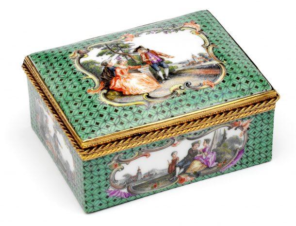Meissen porcelain factory, 1750-1760, Meissen, Germany, museum no. Loan:Gilbert.337-2008