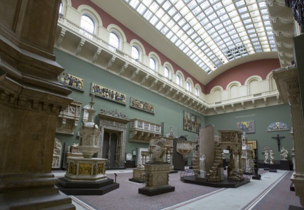 The New Weston Cast Court Galleries after refurbishments Victoria and Albert Museum