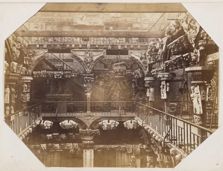 Bedford Lemere Royal Architectural Museum 1872 Albumen print Museum no. E.663:2-2016 ©Victoria and Albert Museum