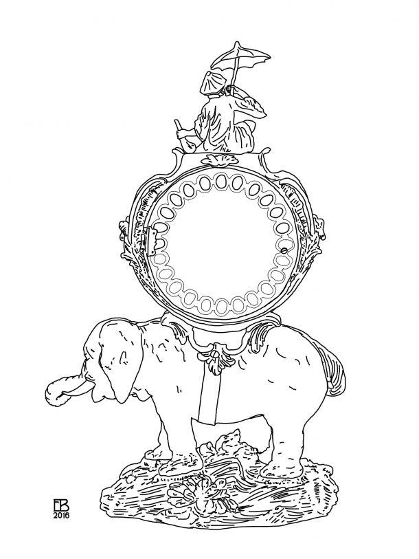 EB blog - back of elephant clock