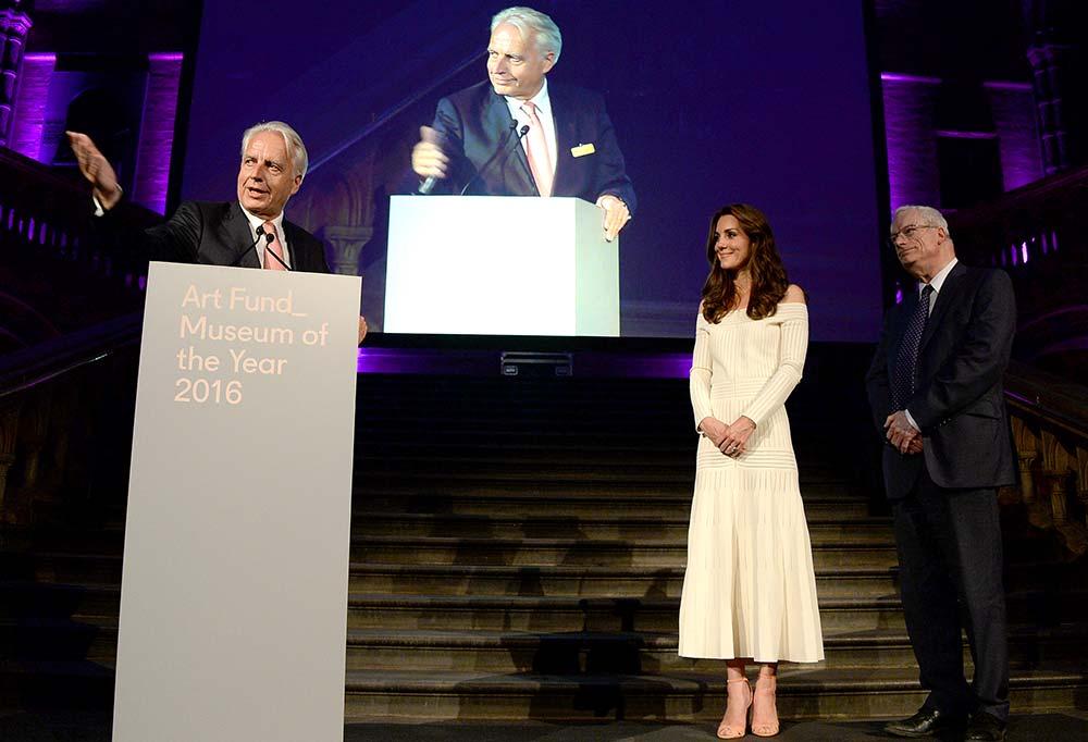 HRH, Duchess of Cambridge, Art Fund, Award, winner, 2016, prize