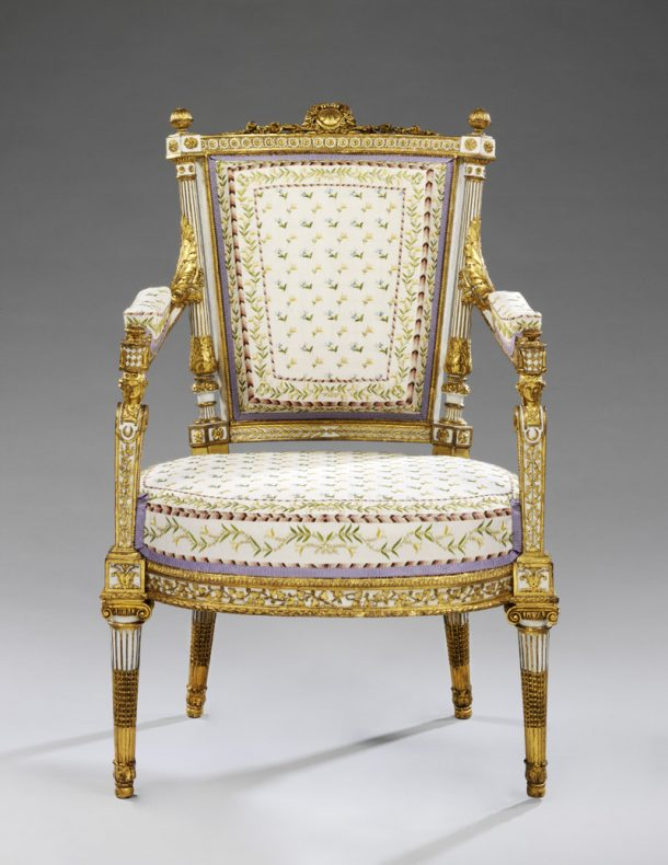 Armchair after treatment (W.6-1956)