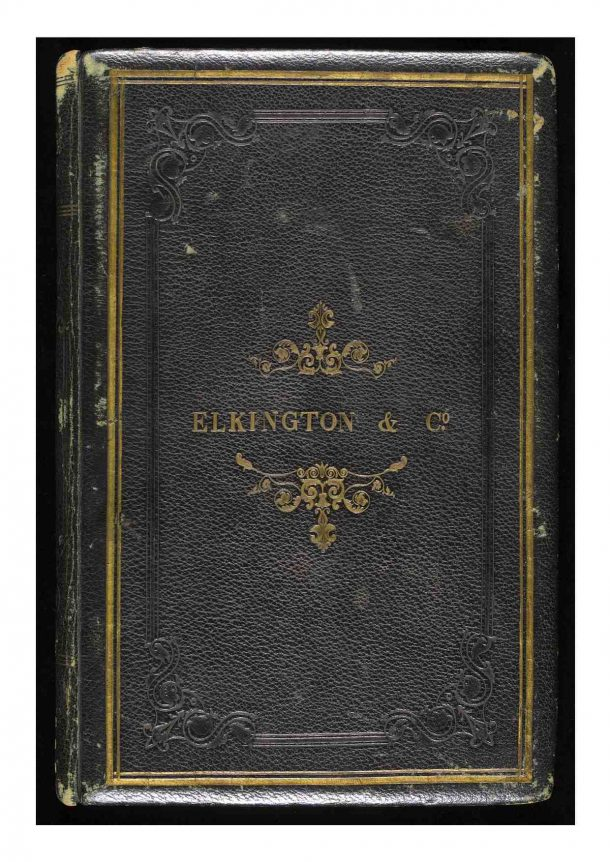 Elkington & Co. Visitors' Book, 1855-1878. Victoria and Albert Museum, London. Reference: National Art Library Manuscript: MSL/1971/707-709.