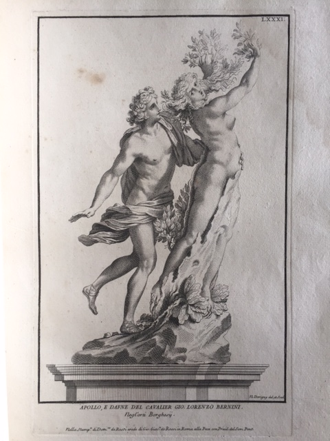 Apollo and Daphne by Gian Lorenzo Bernini, engraved by Nicolas Dorigny © V&A Museum
