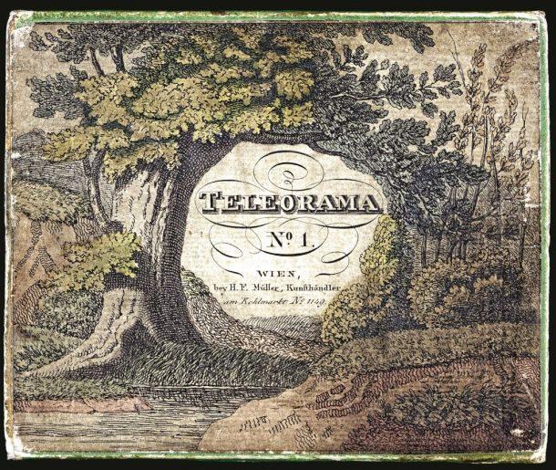 Fig. 4. H.F. Muller's 'Teleorama No.1' peepshow, ca. 1825.