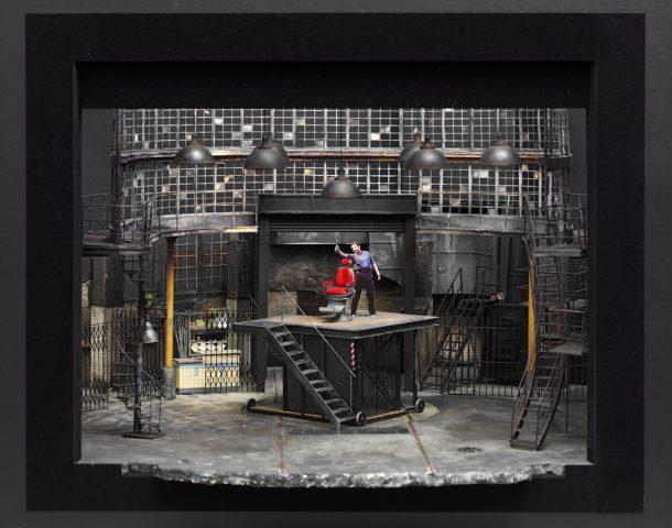 Set model for the musical Sweeney Todd: The Demon Barber of Fleet Street