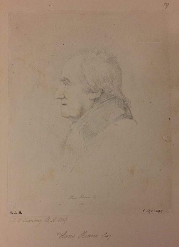 Portrait of Sir Hans Sloane