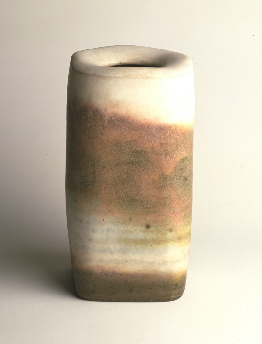 Lucie Rie, Stoneware bottle,