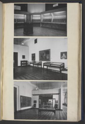 Displays of The Nicholas Hilliard & The Elizabethans Exhibition, June 1947 @Victoria & Albert Museum, London