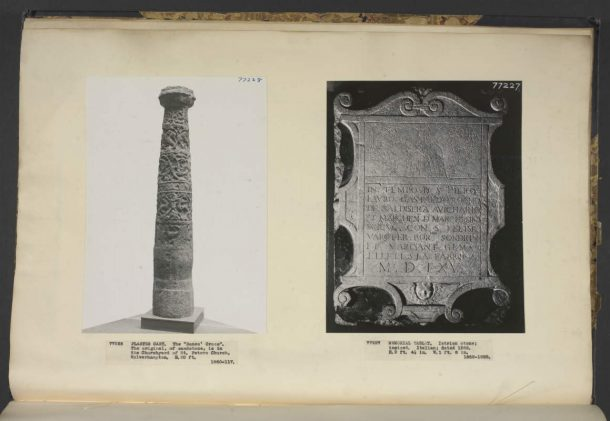 Cast of the Wolverhampton Cross Shaft. Image © Victoria and Albert Museum, London.