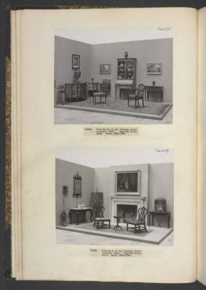 Room sets of English Furniture, 1785 - 95 & 1750 - 60, Octagon Court, January 1936. ©Victoria & Albert Museum, London