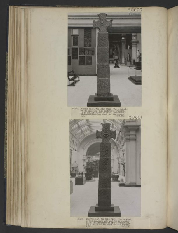 Cast of Irton Cross. Image © Victoria and Albert Museum, London.