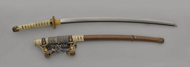 Japanese long slung sword