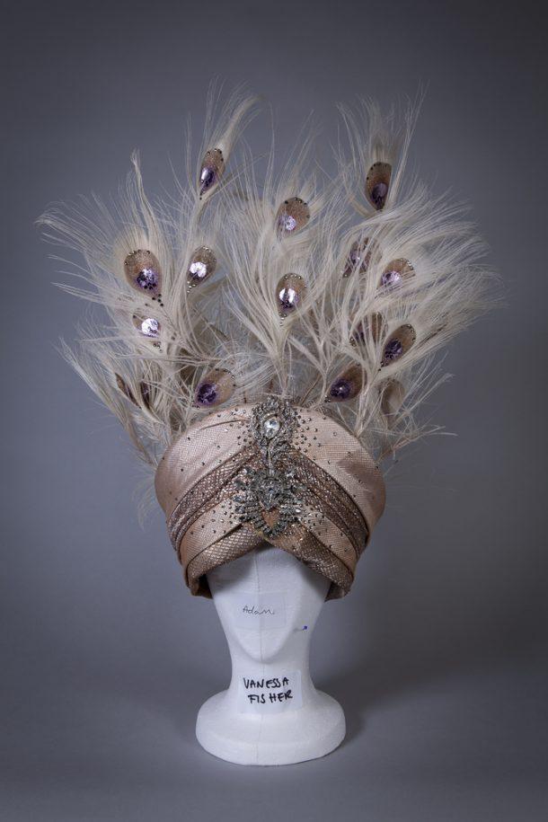 Headdress designed by Vicki Mortimer