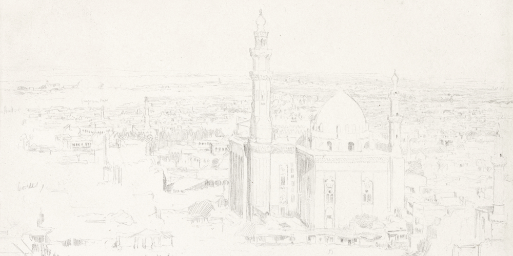 Mosque of Sultan Hassan - from the Citadel