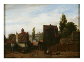 The Mall, Kensington Gravel Pits, oil on canvas, ca.1811-12 by William Mulready. Museum number: FA.136[O] © Victoria & Albert Museum