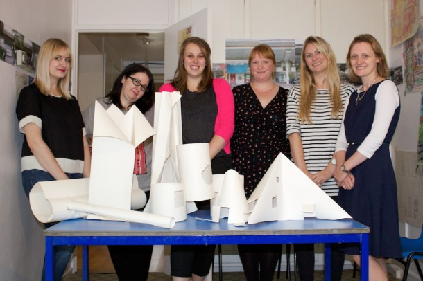 V&A Learning Department Team, sculptural workshop. © Constantine Gras