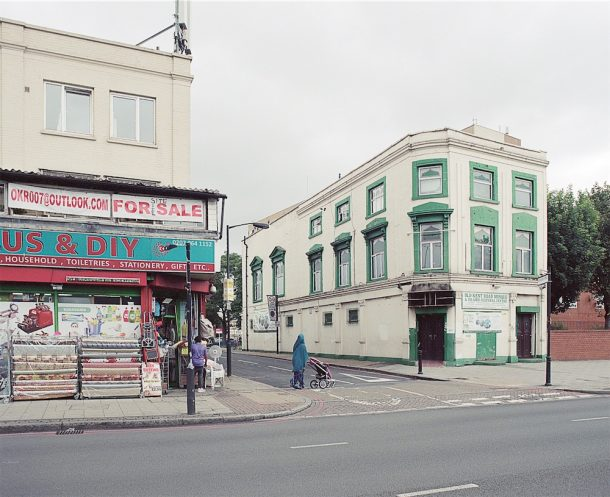 Old Kent Road mosque, exterior