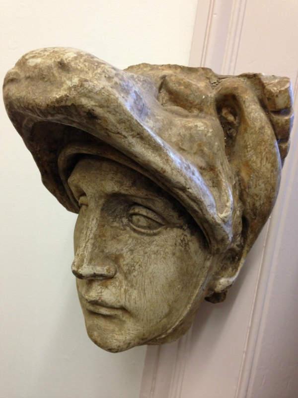 Michelangelo, head of Lorenzo (Cast: Brucciani). NAS Plaster.
