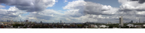 Panoramic view from the dome at the V&A Museum. © Constantine Gras
