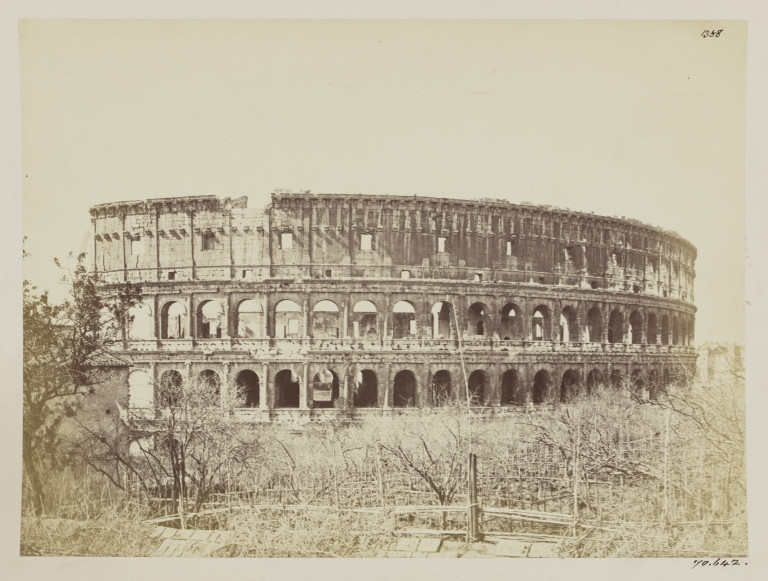 Photograph of the Colosseum, Rome