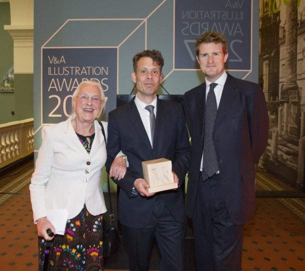 Beryl Kingston, A.Richard Allen and Dr Tristram Hunt