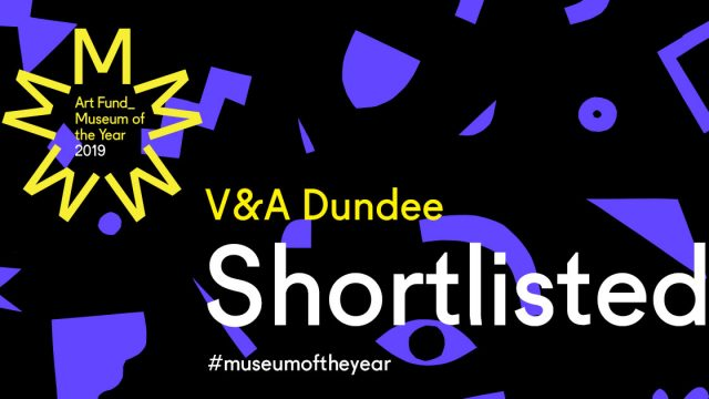 V&A Dundee shortlisted for Art Fund Museum of the Year 2019