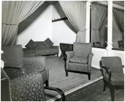 Royal Albert Hall, Grand Tier 12, 1954