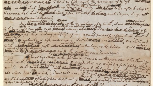 David Copperfield manuscript by Charles Dickens