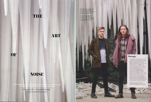 GUN Architects and AKT II were shortlisted in The Temporary category for The Rainforest at the NLA's New London Awards 2015. The Rainforest became a popular lunchtime destination and featured as a backdrop for a GQ mens fashion shoot featuring grunge rockers Drenge.