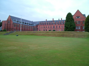 Ellesmere College Shropshire,  founded by Canon Nathanial Woodard in 1884, and originally opened as a boarding school for boys.