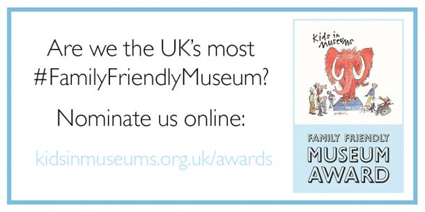 Family Friendly Museum Award Graphic