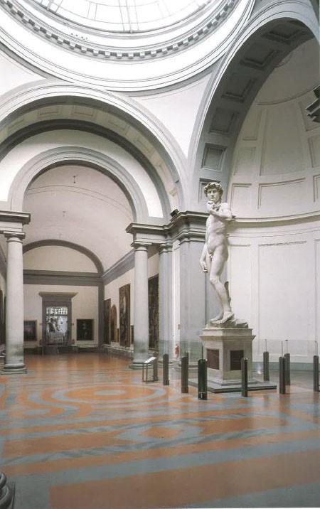 Figure 1. Michelangelo Buonarroti, David, 1501-1504, marble. Accademia Gallery, Florence, (published in L'Accademia, Michelangelo, l'Ottocento, cit., p.54).