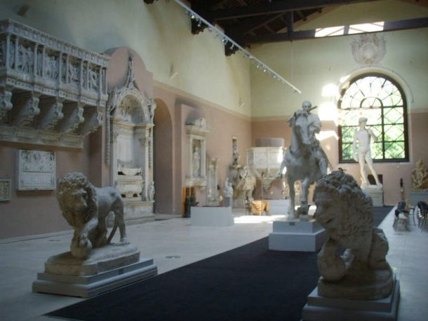 The Gipsoteca of the Art Institute of Porta Romana, Florence (http://www.artisticoportaromanafirenze.gov.it).