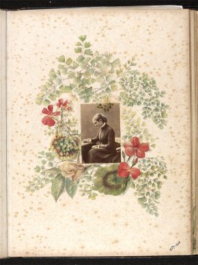 Page from Kate Gough's Album, 1870s. Museum no. 859-1963 © Victoria and Albert Museum, London